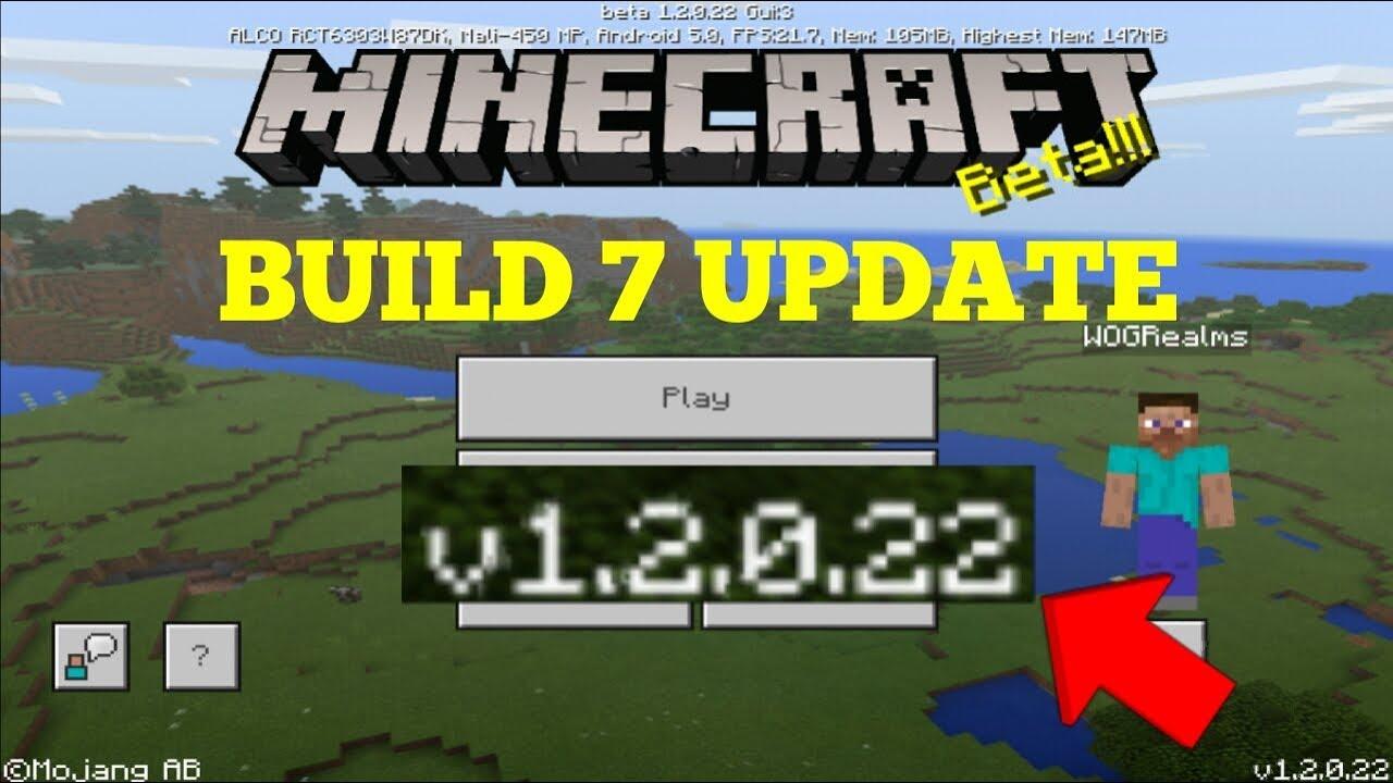 Minecraft: Bedrock Edition 1 2 Beta Build 7 Update (Pocket/Win10