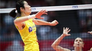 The best of Zhu ting in World Cup 2019   tanatorn sk