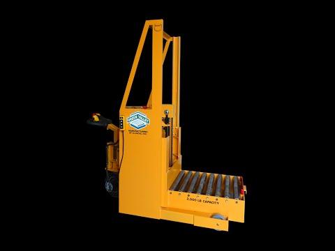 Titan 163543 2000 lb Capacity Tiller Drive Die Cart