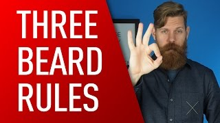 3 Rules for Growing Out Your Beard | Eric Bandholz