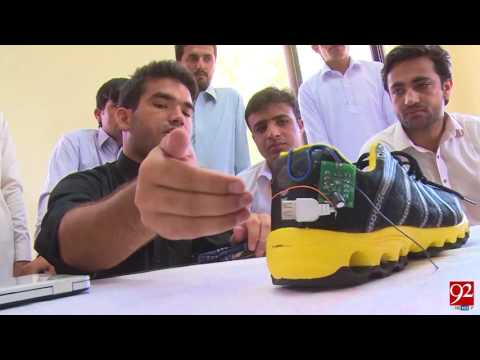 Exhibition of students' projects organised at UET Peshawar - 24 July 2017 - 92NewsHDPlus