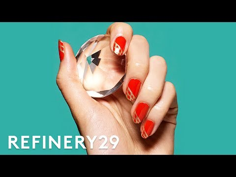 TESTED . . . Drugstore Press-On Nails - 3 Day Challenge   Beauty In A Snap   Refinery29