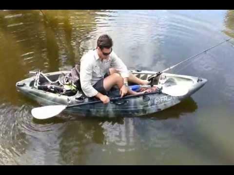 Freak assassin fishing kayak review youtube for Fishing kayak for big guys