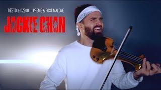 Tiësto & Dzeko ft. Preme & Post Malone - Jackie Chan instrumental cover violin