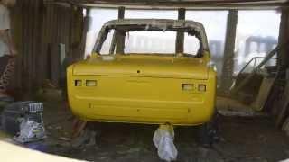 Покраска автомобиля ВАЗ 2101(Покраска автомобиля ВАЗ 2101. Видео отчёт как мы красили автомобиль. Время на это ушло не много около 2х часов,..., 2013-08-18T03:29:01.000Z)