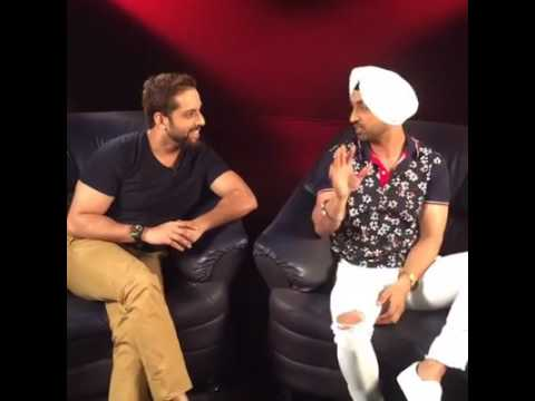 Diljit Dosanjh live interview B4U Upcoming song do you know