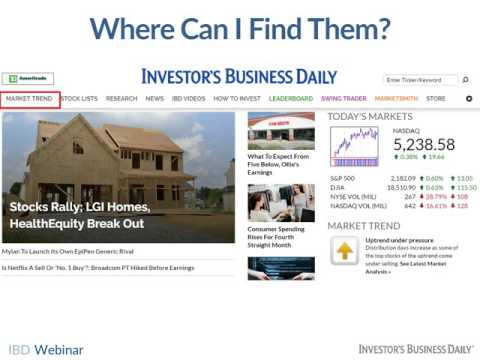 Psychological Market Indicators Webinar   Stock News   Stock Market Analysis   IBD