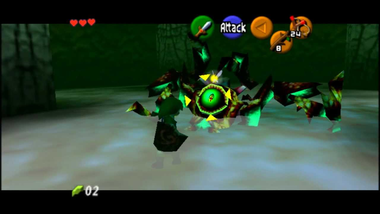 How to defeat gohma in hyrule warriors - The Legend Of Zelda Ocarina Of Time Walkthrough Deku Tree Defeat Gohma