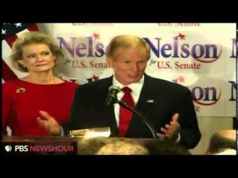 Florida Sen. Bill Nelson Defeats Rep. Connie Mack IV