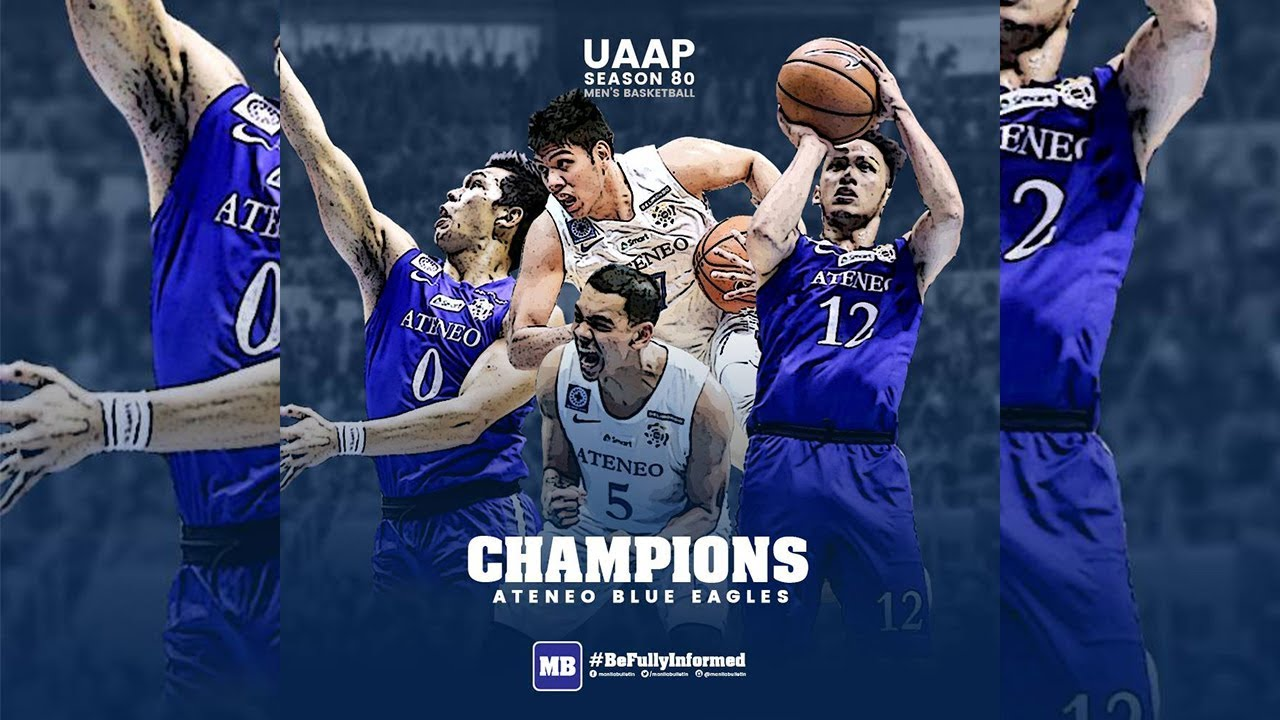 timeless design ed2a1 f5af0 Ateneo wins #UAAPSeason80 Men's Basketball Championship