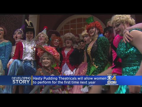 Hasty Pudding Theatricals Will Allow Women To Perform