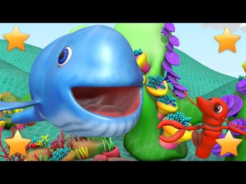 Big Blue Whale | Kindergarten Nursery Rhymes & Songs for Kids | Little Treehouse S03E90