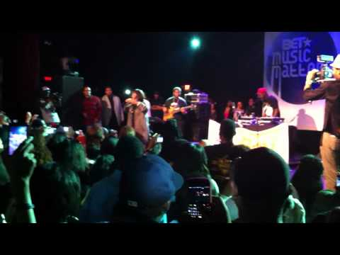 BET Music Matters Tour Marsha Ambrosius Brings Out Patti LaBelle
