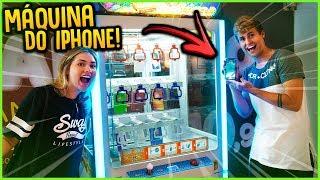 GASTEI 150 R$ NA MÁQUINA DE IPHONE!! ( GANHEI IPHONE XS MAX? ) [ REZENDE EVIL ]