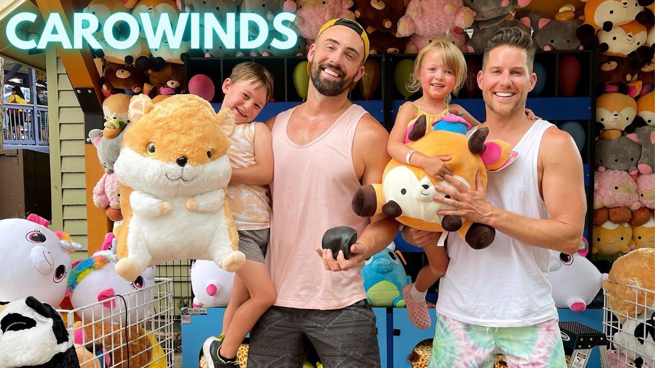 Carowinds | Dustin and Burton | Raising Buffaloes