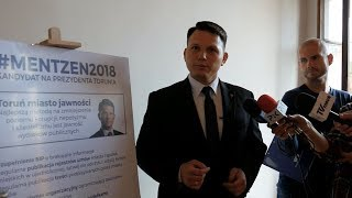 Toruń miasto jawności - dr Sławomir Mentzen