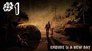 The Walking Dead - Episode 1 - Gameplay Walkthrough - Part 1 - A NEW DAY (Xbox 360/PS3/PC) [HD]