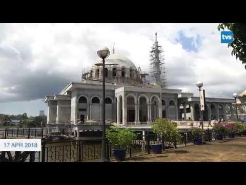 Masjid Terapung Kuching Sedia Menjelang September