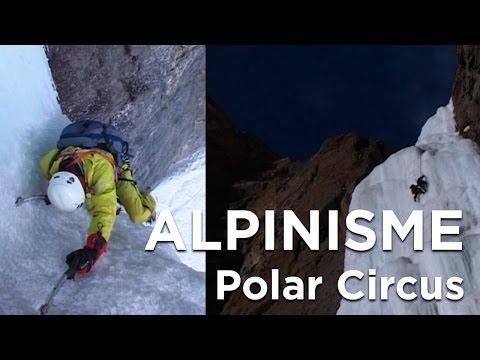 Polar Circus Canada cascade de glace Voyage alpinisme montagne escalade