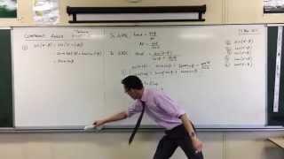 Compound Angle Identities (2 of 4: Cosine)