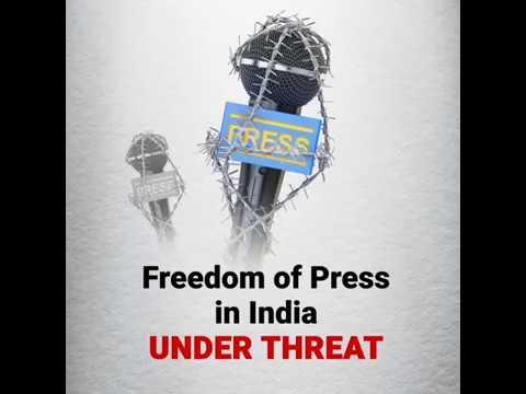 Modi Govt. | Freedom of Press in India Under Threat
