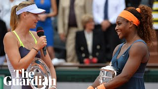 Serena Williams hits back at Maria Sharapova over autobiography 'hearsay'