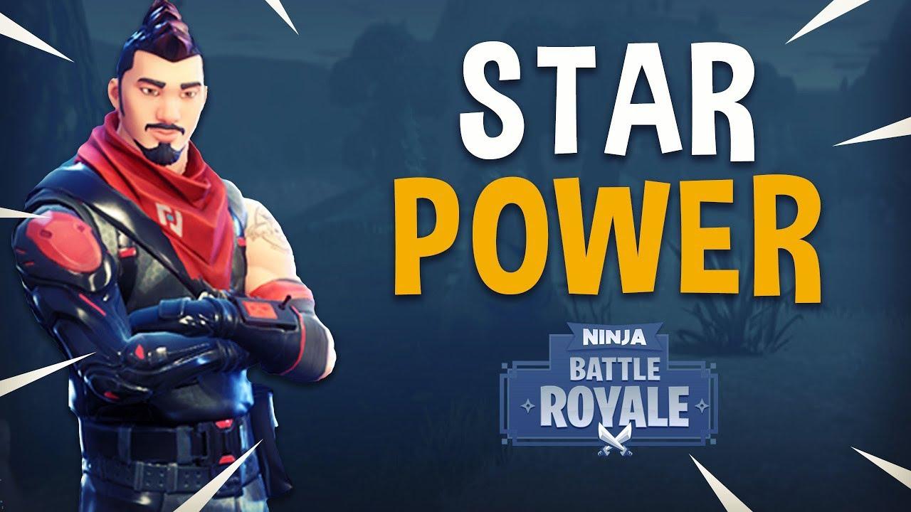 Star Power Fortnite Battle Royale Gameplay Ninja Youtube