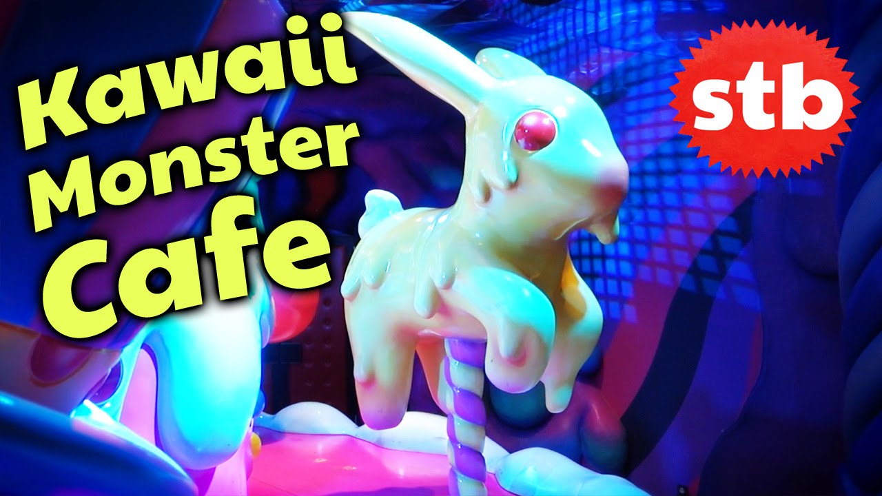 Kawaii Monster Cafe Crazy Food In Tokyo Japan