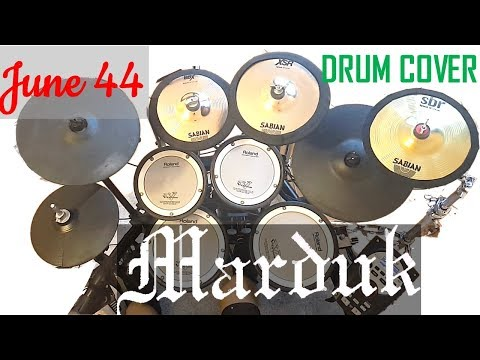 Drum cover MARDUK - June 44