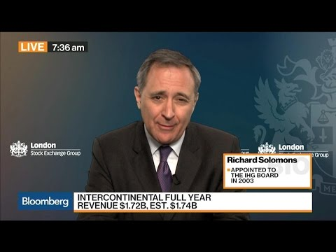 Intercontinental's CEO Says He's Confident of Outlook