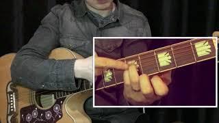 GuitarClassroom - Фрагмент урока (аккорд плюс мелодия)