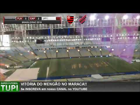 Flamengo 3 x 2 Atlético-PR - 6ª RODADA - Campeonato Brasileiro - 26/05/2019