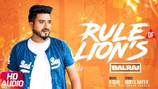 Rule of lions Balraj Mp3 Song Download