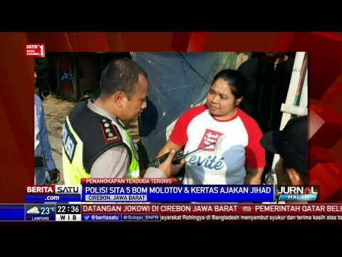 Penangkapan Teroris di Cirebon, Polisi Sita 5 Bom Molotov