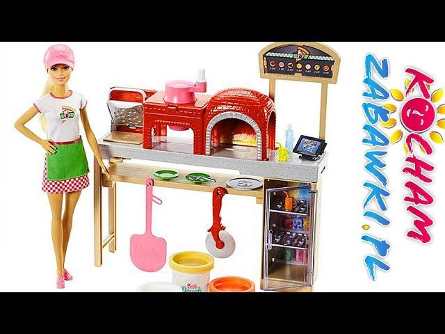 Barbie Pizza Chef • Barbie jako szef pizzerii • ciastolina Barbie Dough • bajki po polsku