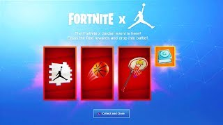 Fortnite x Michael jordan EVENT! - NEW Exclusive REWARDS + LTM! (Micheal Jordan Event)