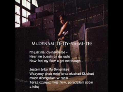 Ms Dynamite - Dy-Na-Mi-Tee (polskie Napisy)