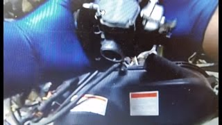 Polaris Trail Boss 325 Parts Removal - Carburetor  Master Cylinder Handlebars 360fly