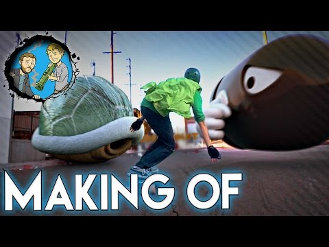 Making of Mario Skate!