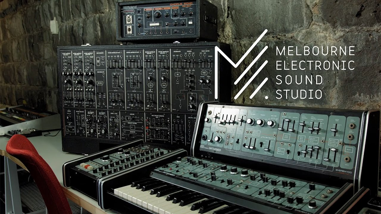 Inside The Melbourne Electronic Sound Studio (MESS) | Synthtopia