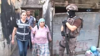 Adana da 500 Polisle PKK KCK Operasyonu 31 Gözaltı
