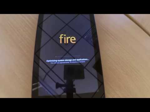Factory Reset Amazon Fire HD