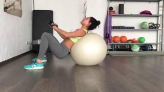 Тренировка fit ball (фитбол)