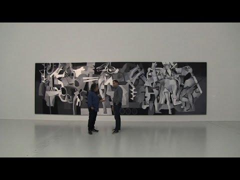 Iraqi artist warns of 'scenario of destruction'