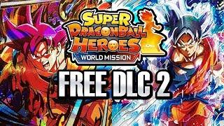 NEW WORLD MISSION FREE DLC PACK 2 UPDATE! Super Dragon Ball Heroes World Mission CC Ultra Instinct