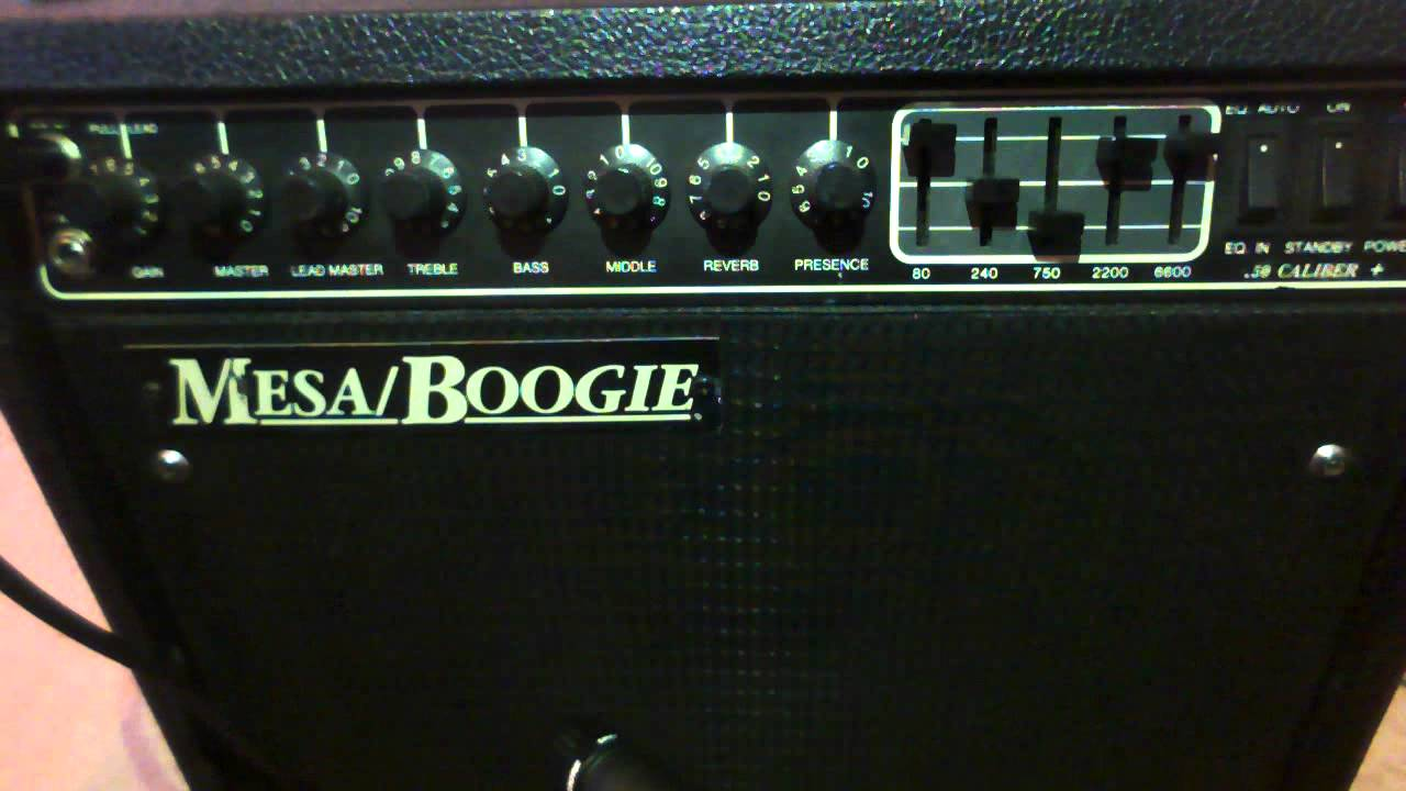 Mesa Boogie Caliber 50 Plus Sound Test