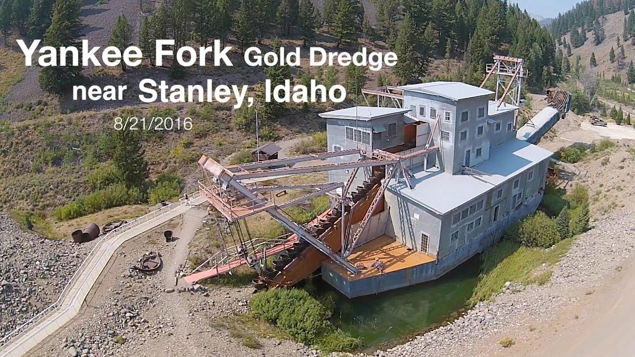Yankee Fork Gold Dredge in Idaho