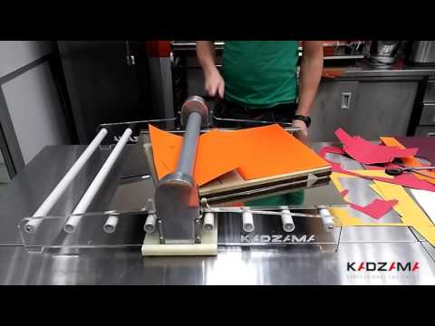 Package-making machine / Упаковка для шоколада своими руками