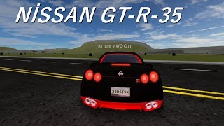ROBLOX VEHİCLE SİMULATOR // NİSSAN GTR // #7