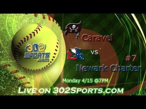 #7 Newark Charter visits Caravel Academy Softball LIVE from Caravel